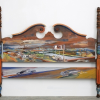 Slaughterhouse View Headboard
