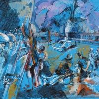 Freddie Gray Baltimore Riots I (study)