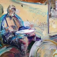 Baltimore Uprising Drummer