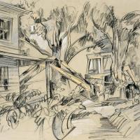 Preston's Backhoe & Cabin II
