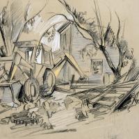 Preston's Backhoe & Cabin