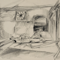 Study for Rose Window