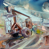 Repair Crane Boom