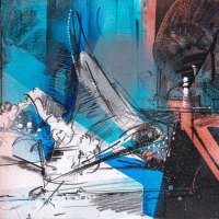 Untited_37_8.5x11_graphite_and_masked_spray_paint_on_paper_2020